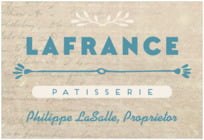 Lafrenz Wide Rectangle Label In Turquoise