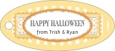 Candystripes oval hang tags