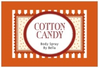 Candystripes wide rectangle labels
