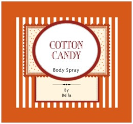 Candystripes large rectangle labels
