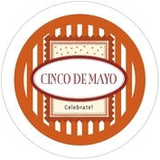 Candystripes cinco de mayo coasters