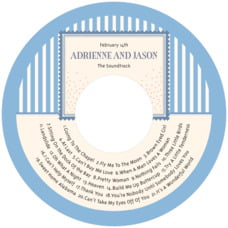 Candystripes cd labels