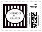 Candystripes small postage stamps