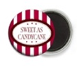 Candystripes button magnets