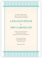 Candystripes invitations