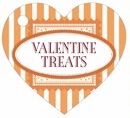 Candystripes heart hang tags