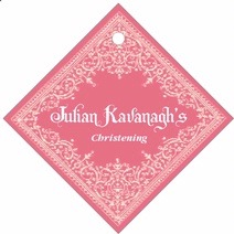 Casablanca diamond hang tags
