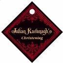 Casablanca small diamond hang tags