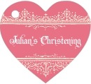 Casablanca heart hang tags