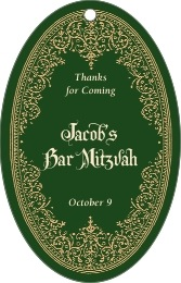 Casablanca bar/bat mitzvah tags