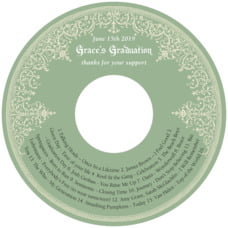Casablanca graduation CD/DVD labels