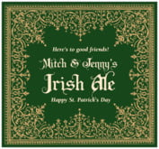 Casablanca st. patrick's day beer labels