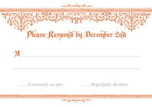 custom response cards - spice - casablanca (set of 10)