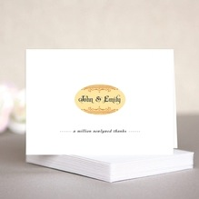 Casablanca wedding note cards