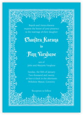 Casablanca invitations