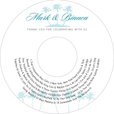 Coco Palms cd labels