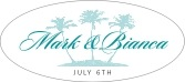 Coco Palms oval labels