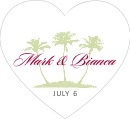 Coco Palms heart labels