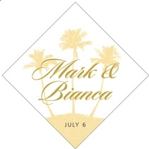 Coco Palms diamond labels