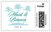 Coco Palms large postage stamps