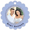 Cara baby shower tags