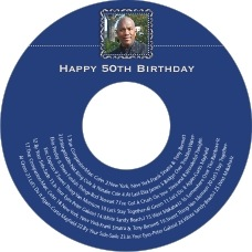 Cara birthday CD/DVD labels