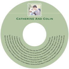 Cara cd labels