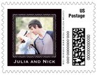 Cara small postage stamps