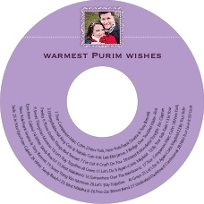 Cara Cd Label In Lilac