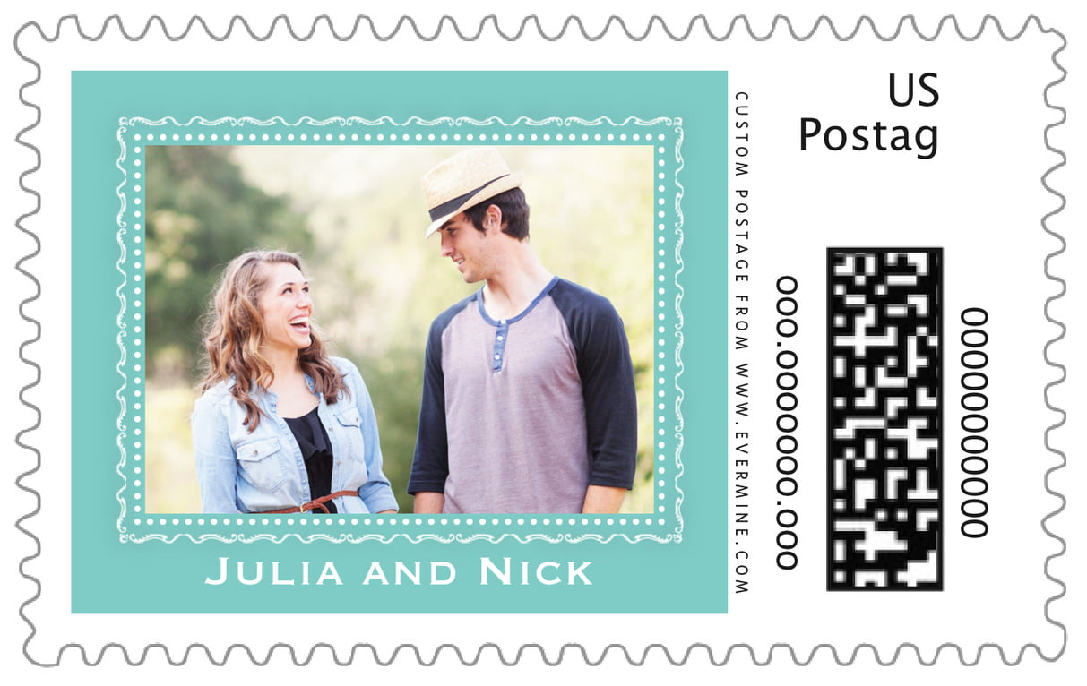 custom large postage stamps - aruba - cara (set of 20)