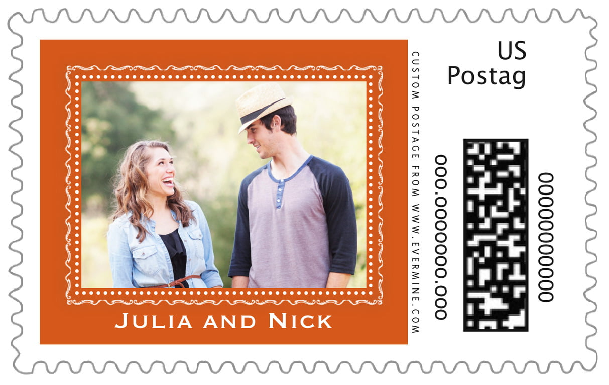 custom large postage stamps - spice - cara (set of 20)