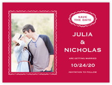 Cara save the date cards