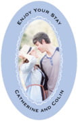 Cara wedding beer labels