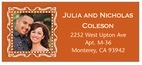 Cara designer address labels