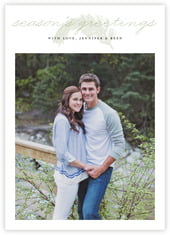 Classic Pine photo cards - vertical