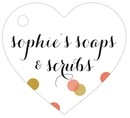 Champagne heart hang tags