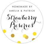 Champagne circle labels