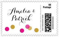 Champagne large postage stamps