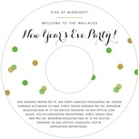 Champagne holiday labels
