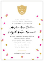 Champagne invitations
