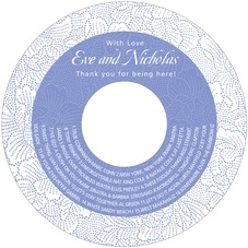 Cherry Blossom cd labels
