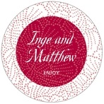 Cherry Blossom circle labels