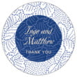 Cherry Blossom small round labels