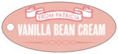 Casual Celebration oval hang tags