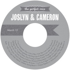 Casual Celebration cd labels