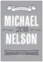 Casual Celebration tall rectangle labels