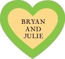 Classic Oldstyle heart labels
