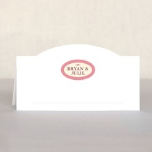 Classic Oldstyle place cards