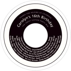Cosmopolitan cd labels