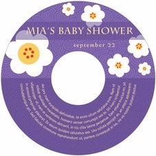 China Blossom baby CD/DVD labels